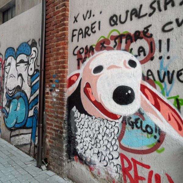 Streetart made in Italy